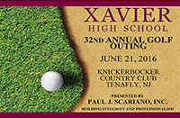 32nd Annual Xavier Golf Outing