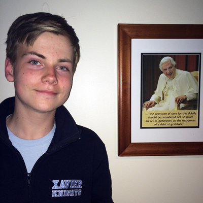 Senior Service Reflection: Harry Cooke '15