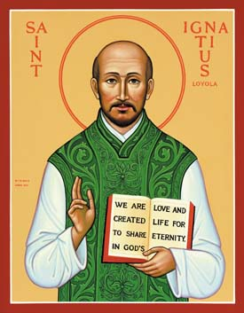 Celebrating the Feast of St. Ignatius Loyola